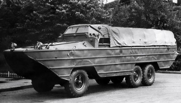 Автомобиль-амфибия ЗИС-485 «БАВ».