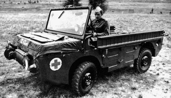 Автомобиль-амфибия ЛуАЗ-967.