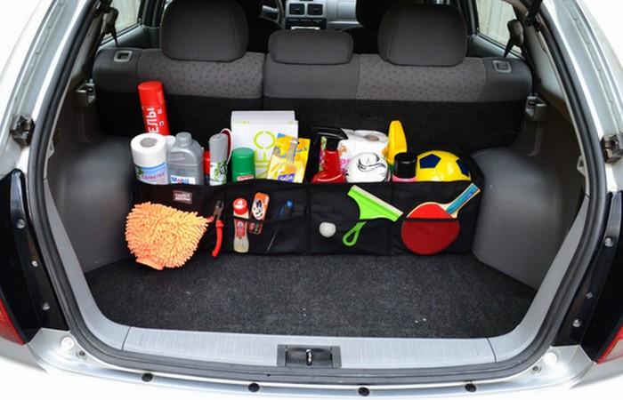 Автомобильный органайзер для багажника.