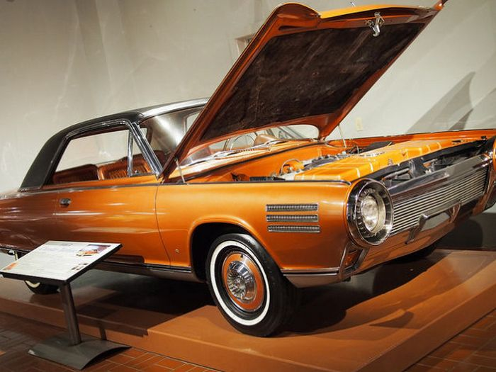 Chrysler Turbine Car - дух послевоенной Америка.