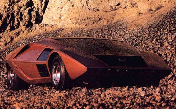 Lancia Stratos Zero.