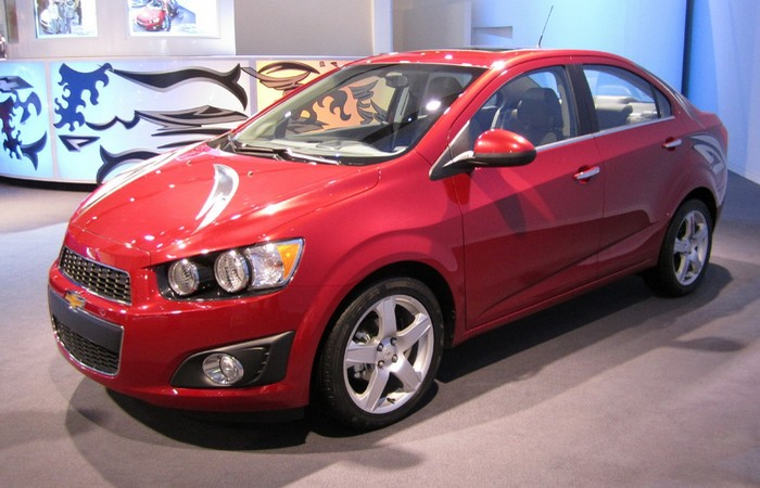 Chevrolet Sonic.