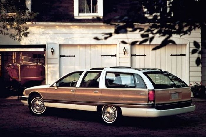 1996 Buick Roadmaster Estate.