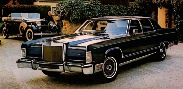 1979 Lincoln Continental Collector's Series.