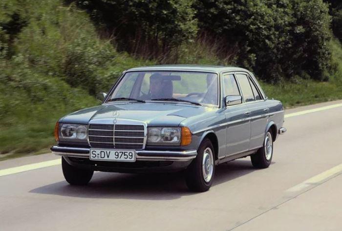 Mercedes E-class W123 пользовался большим спросом.