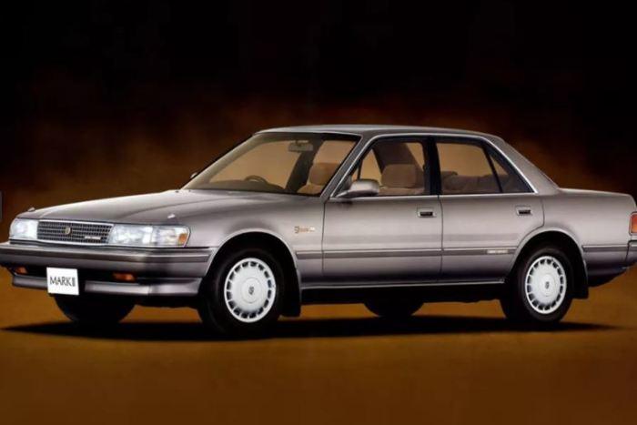 Японский Toyota Mark II X80 был лишь одним из многих.