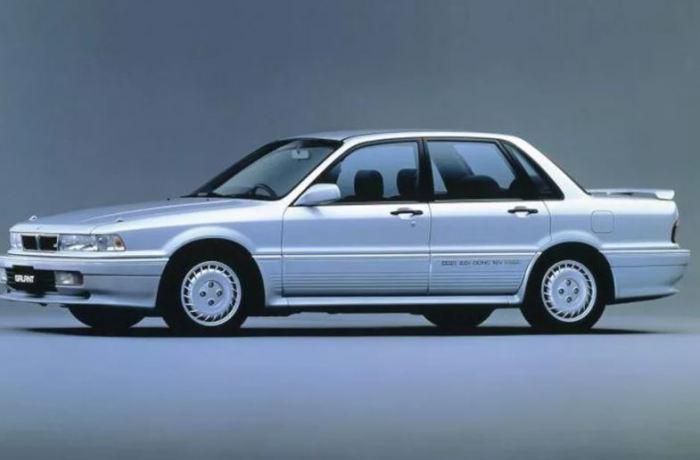 Автомобиль Mitsubishi Galant MkVI о котором мечтали многие.