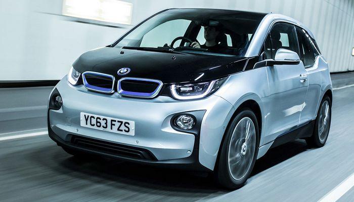 Автомобиль BMW-i3.
