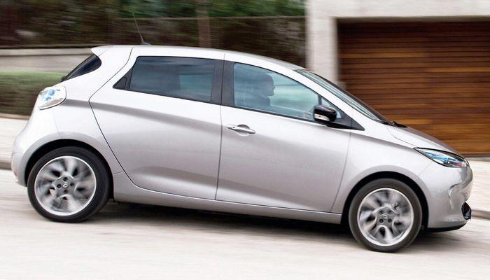 Автомобиль Renault-Zoe.
