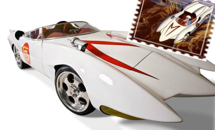 Mach 5 из Speed Racer.