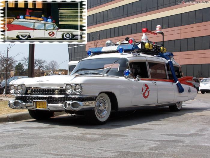 Cadillac Miller-Meteor - автомобиль охотников за привидениями.