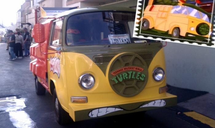 Turtle Van - автомобиль черепашек-ниндзя