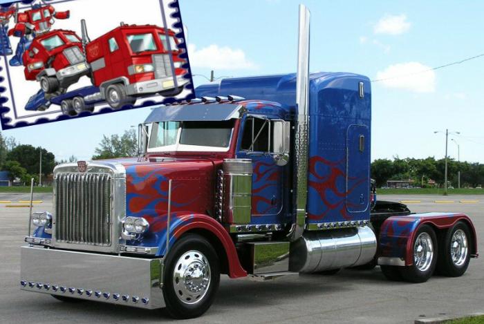 Optimus Prime из Трансформеров