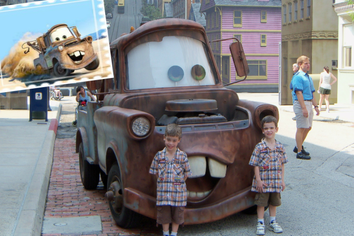 Mater - герой Тачек.