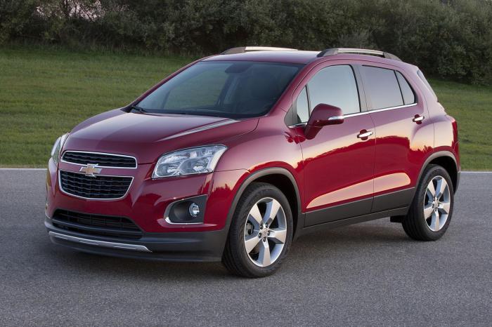 Автомобиль Chevrolet Trax.