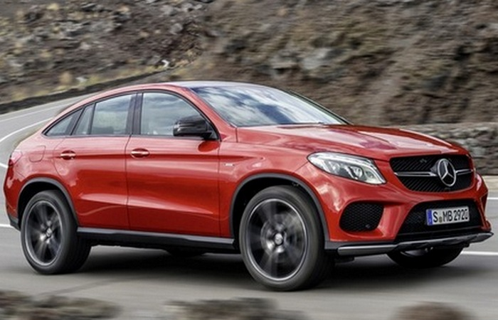 Mercedes-Benz Coupe GLE.