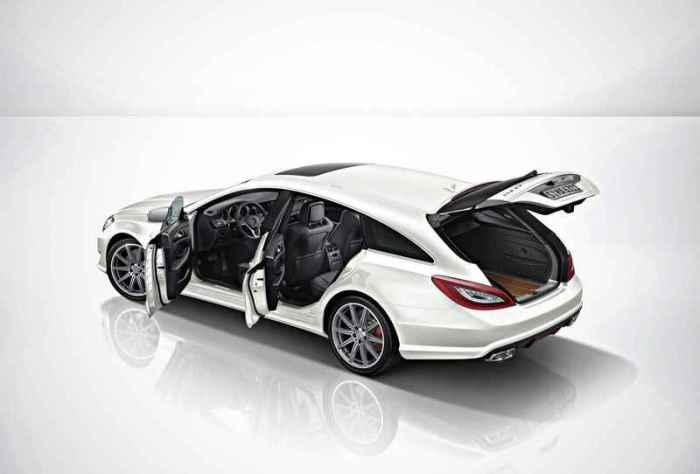 Mercedes-Benz CLS63 AMG Shooting Brake.