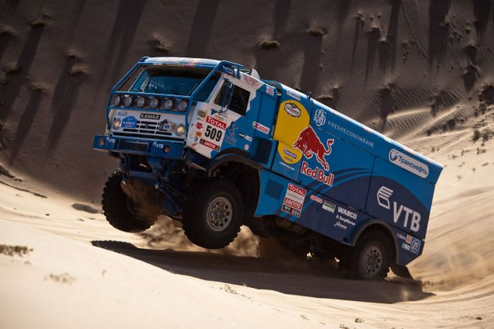 Red Bull Dakar Kamaz.
