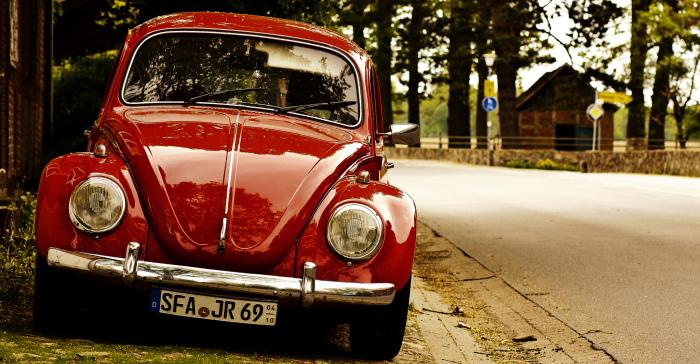 Volkswagen Жук - один из самых позитивных авто.
