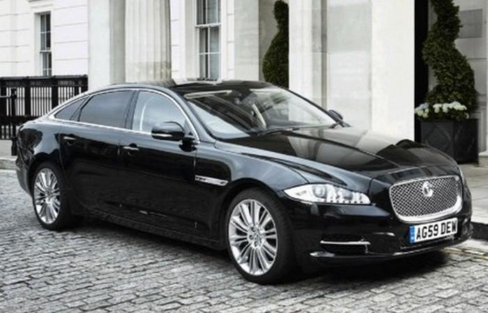 Jaguar XJ Sentinel.