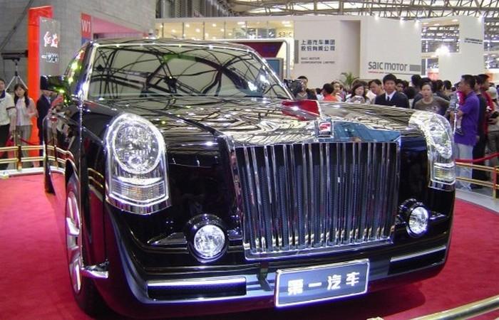Hongqi Limousine.