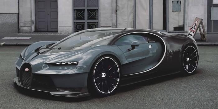 Bugatti Chiron и другие впечатляющие авто.