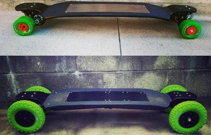 Электрический скейтборд Carvon.