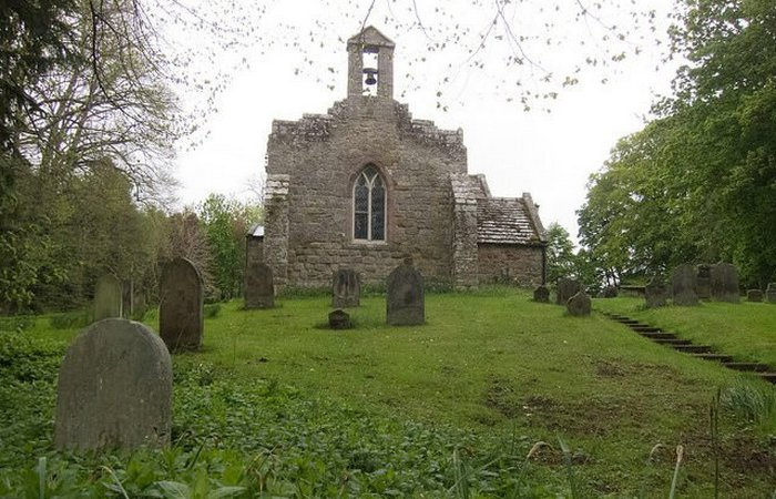 Кладбище замка Чиллингем.