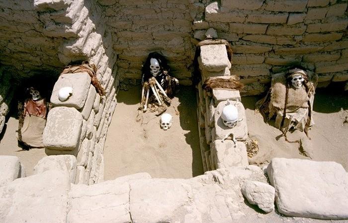 Кладбище культуры Наска.