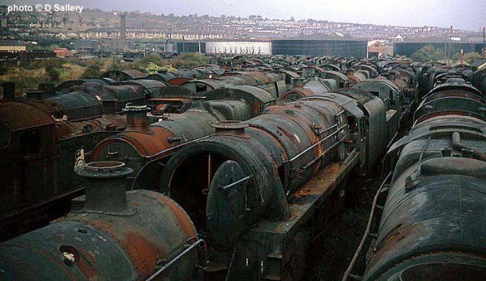 Железнодорожная свалка в Барри
