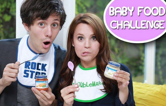 Флэш-моб «Baby Food Challenge».