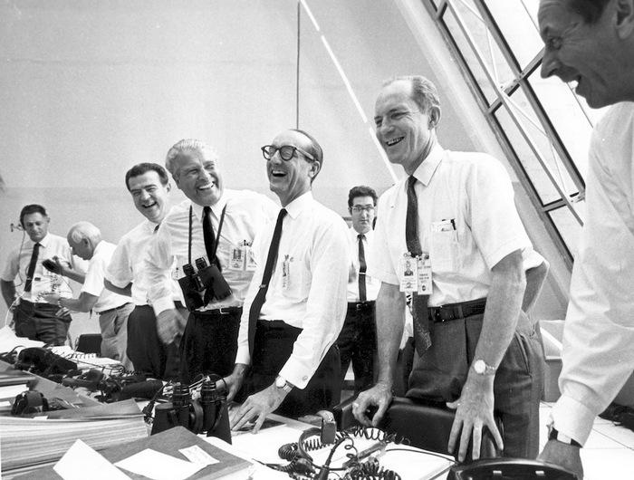 Успешный старт Аполлон 11.