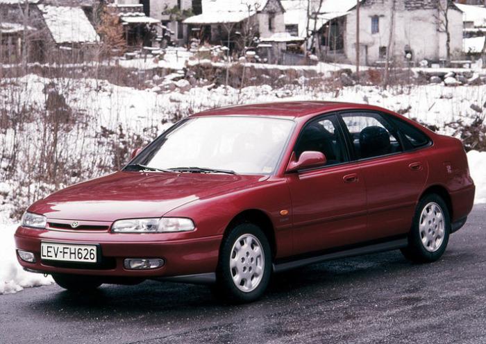 Одина из самых популярных Mazda на просторах родины.