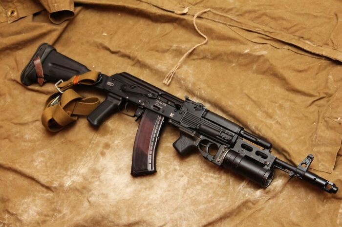 Советский АК-74М. |Фото: guns.allzip.org.
