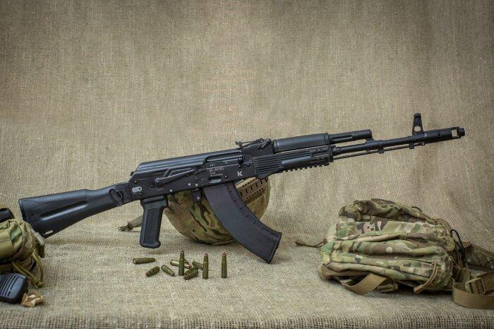 Российский АК-103. |Фото: pnevmat24.ru.