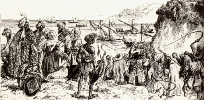 Есть основания полагать, что темнокожи попали в качестве рабов из Османской империи. |Фото: yandex.uz.