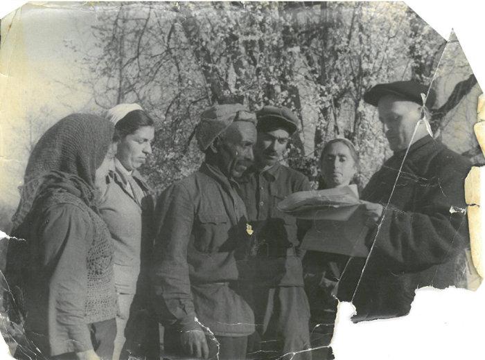 Темнокожий абхаз Ширин Абаш был одним из основателей первого колхоза в этих местах. |Фото: sputnik-abkhazia.ru.