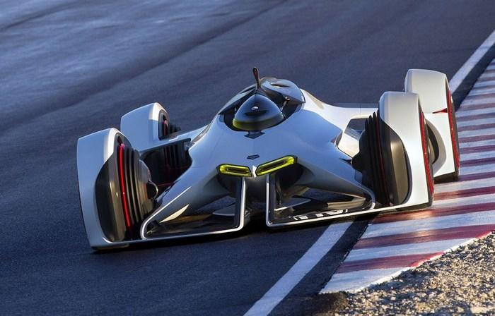 Концепт болида для гонок будущего от Chevrolet.