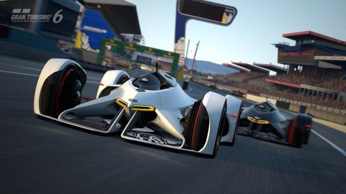 Из игры Gran Turismo 6 - в реальность.