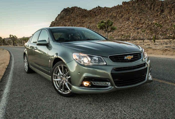Великолепный «американец» Chevrolet SS Sedan и другие непопулярные авто.