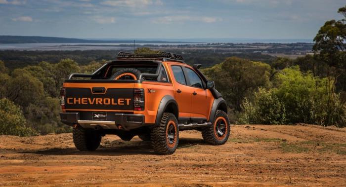 Chevy Colorado Xtreme - новинка от Chevrolet.