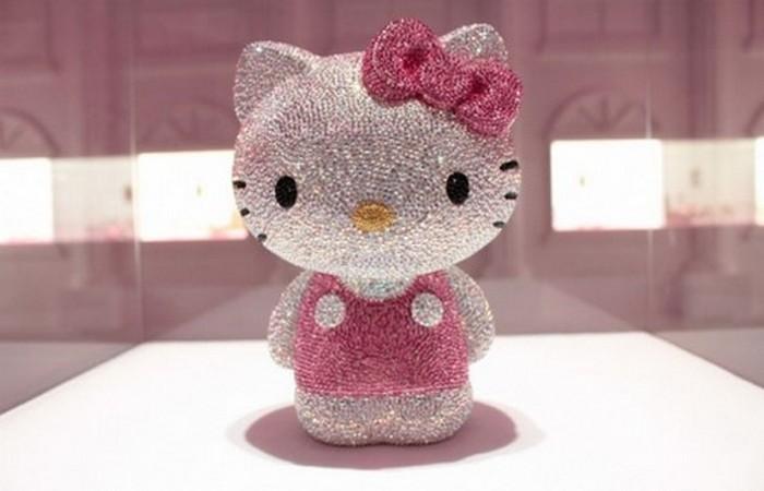 Самая дорогая Hello Kitty.