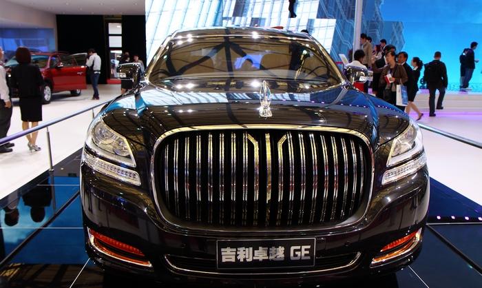 Гениальные китайские копии известных автомобилей.