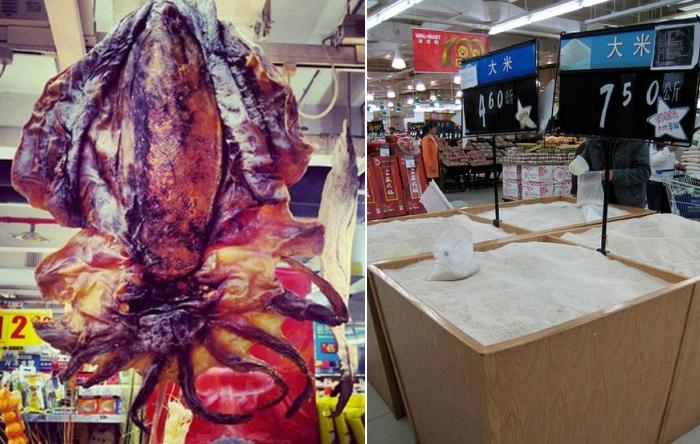 Шокирующие фото из китайских супермаркетов.