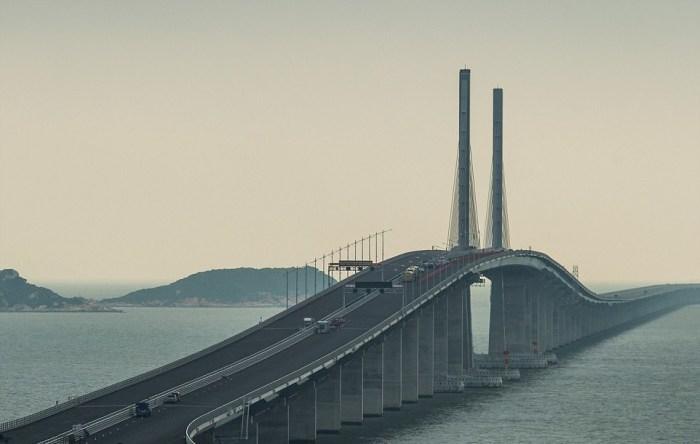 Один из самых больших мостов в мире.