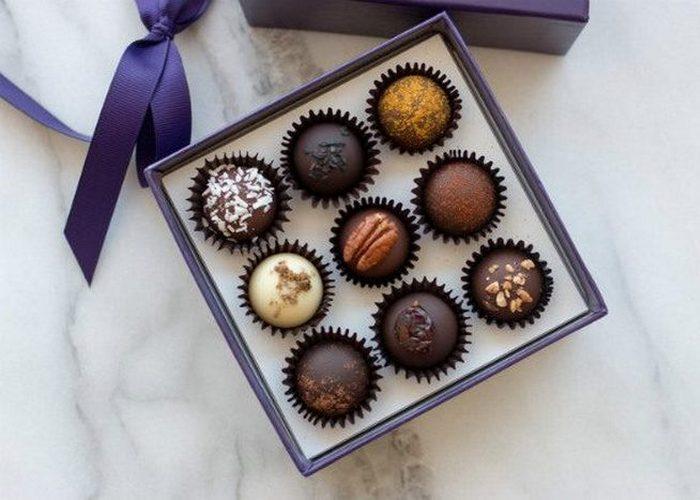Шоколадные конфеты «Vosges».