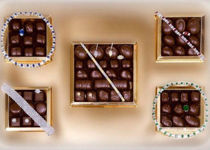 Шоколадные конфеты «Le Chocolat Box».