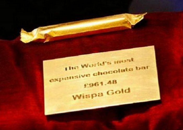Шоколадные конфеты «Wispa Gold Wrapped Chocolate».
