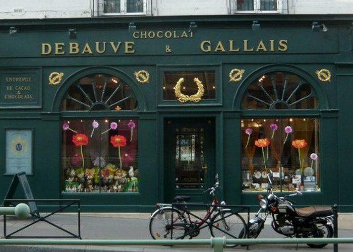 Шоколадные конфеты «Debauve & Gallais».