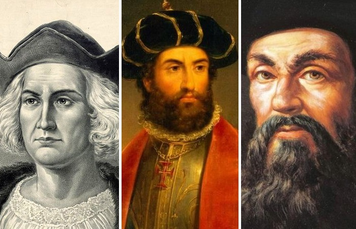 Христофор Колумб, Васко да Гама, Фернандо Магеллан. |Фото: novate.ru.